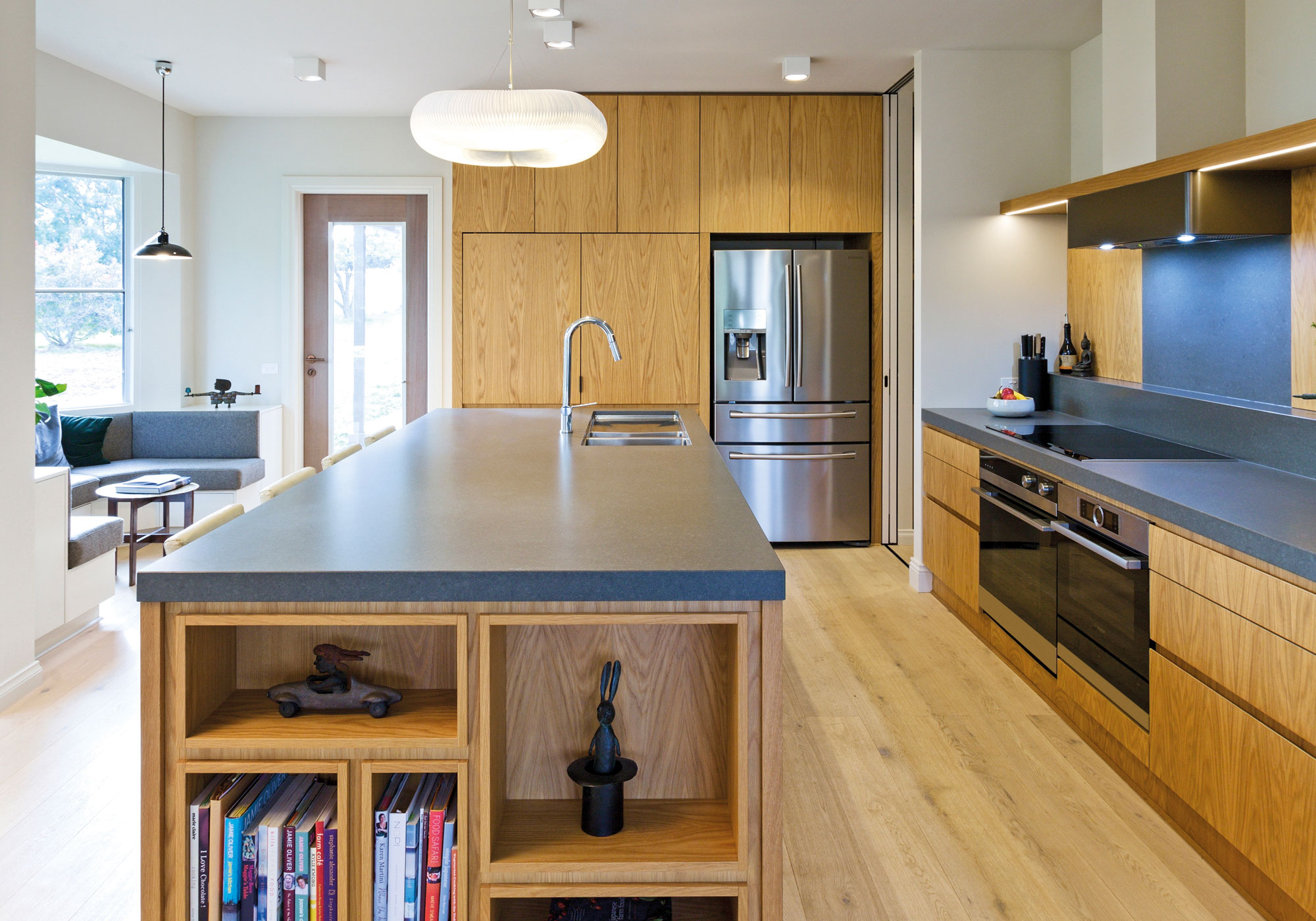 Clean lines minimalistic contemporary kitchens