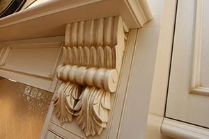 French Provincial Kitchen Corbel