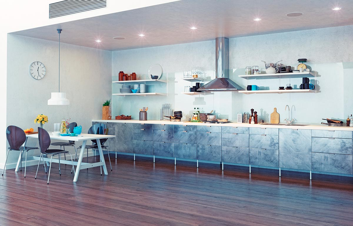 Industrial Style Kitchens, Industrial Look Kitchen Design Melbourne ...