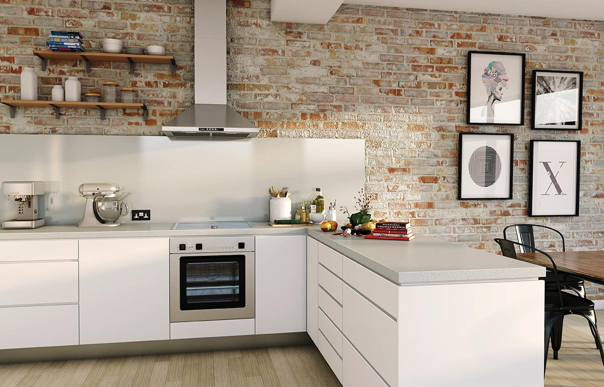 A Kitchen Fit For A New York Industrial Style Apartment