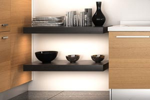 Modern Kitchen Wall Shelves