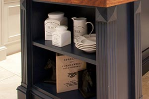 Storage Shelf for Hampton Style Kitchens