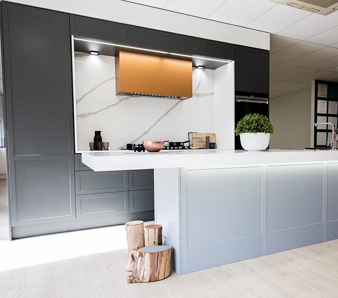 The Advanced Cabinetry Hamptons Display Kitchen in Ballarat