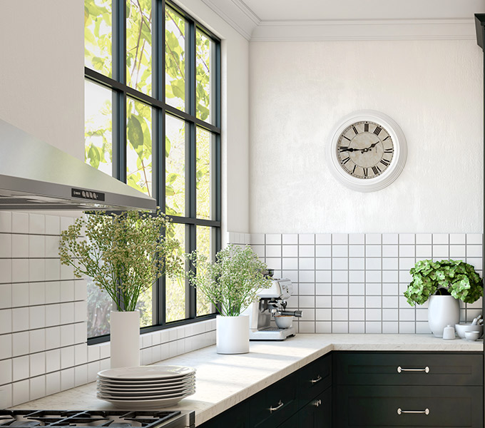 Hamptons Style Tiled Splashback