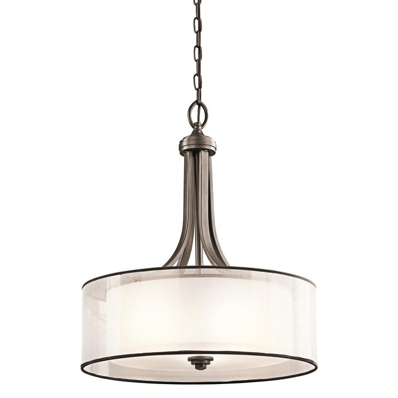 Old World Manhattan 4 Light Pendant