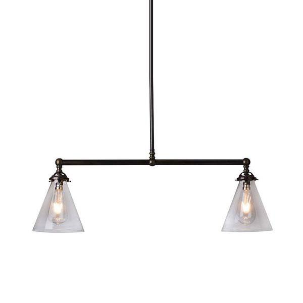 Sleek Transitional Style Pendant