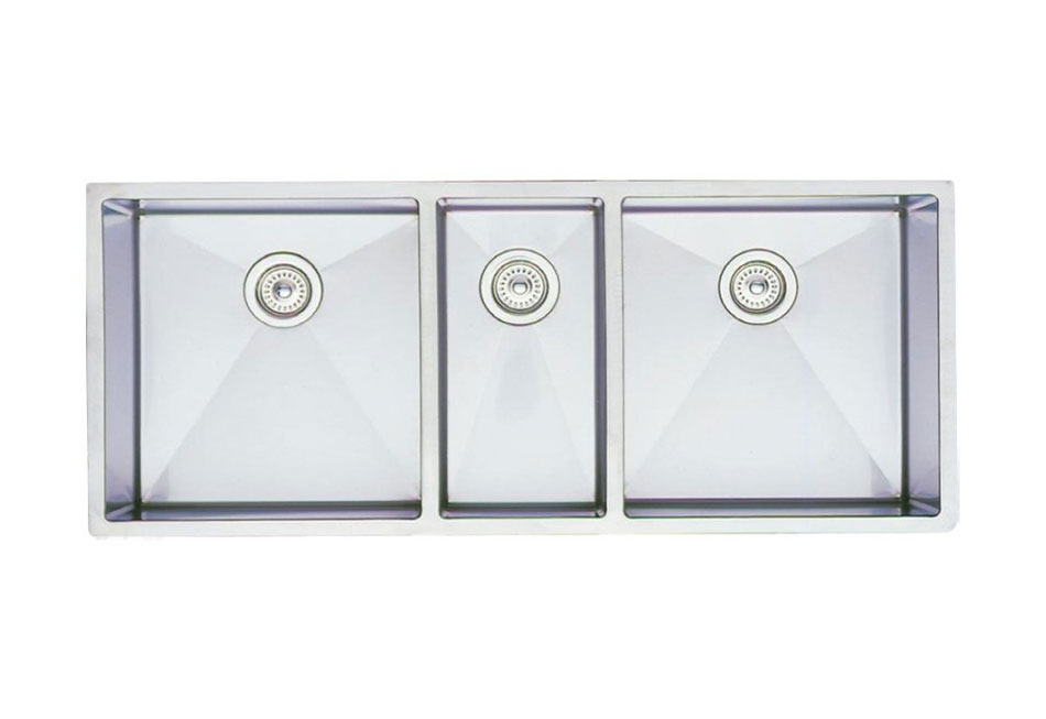 Blanco Precision Undermount R10 Triple Bowl Sink