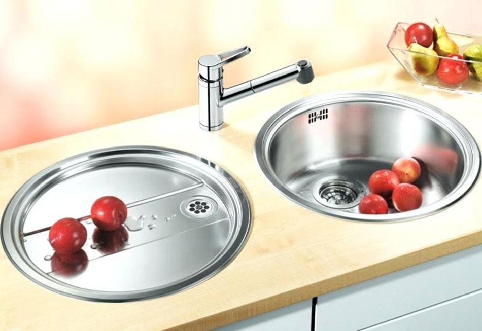 Blanco RONDO Inset Round Bowl Kitchen Sink