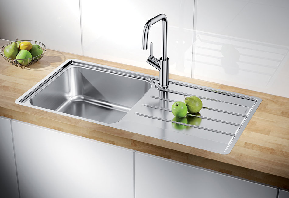 Blanco LEMISXL6SLIFK5 Flushmount Kitchen Sink