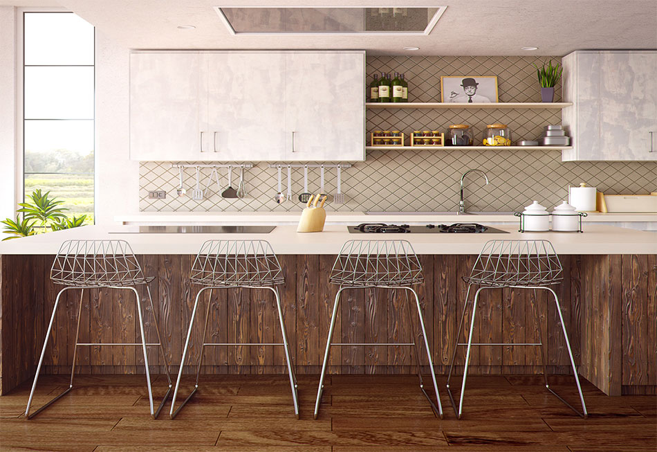 Mixed Style Kitchen Design