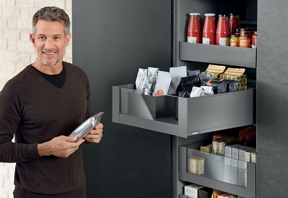 Blum Space Tower Kitchen Storage