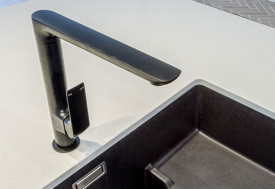 Blanco Kitchen Sink and Milli Glance Tap Mixer