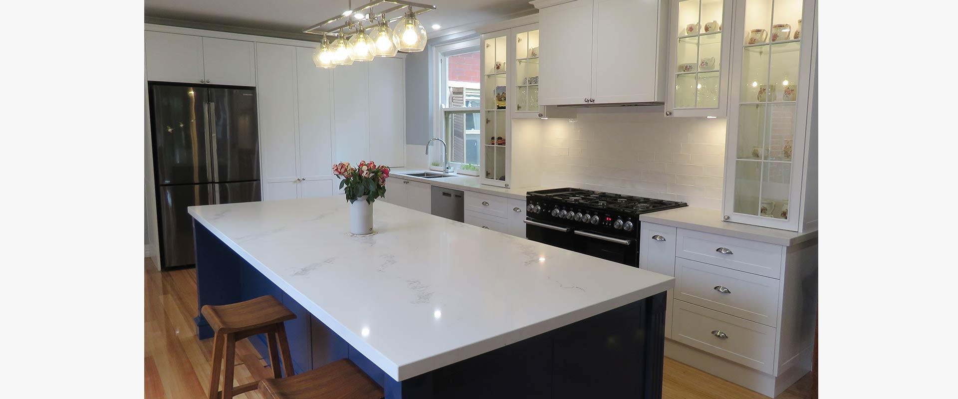 Ballarat Central Hamptons Kitchen 1
