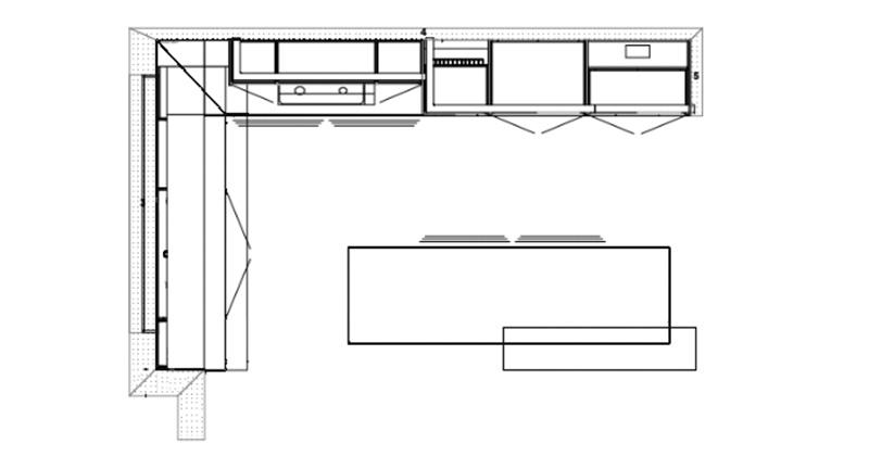 Smythes Creek Kitchen Floorplan
