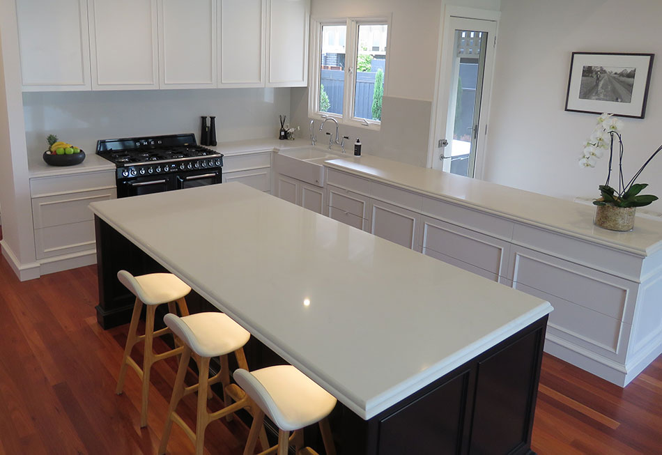 Hamptons Kitchen Island Benches-Featured