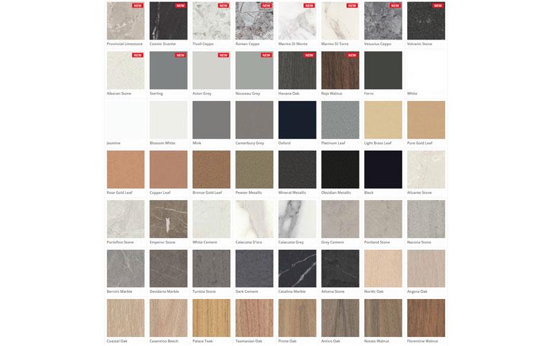 Polytec's Colours