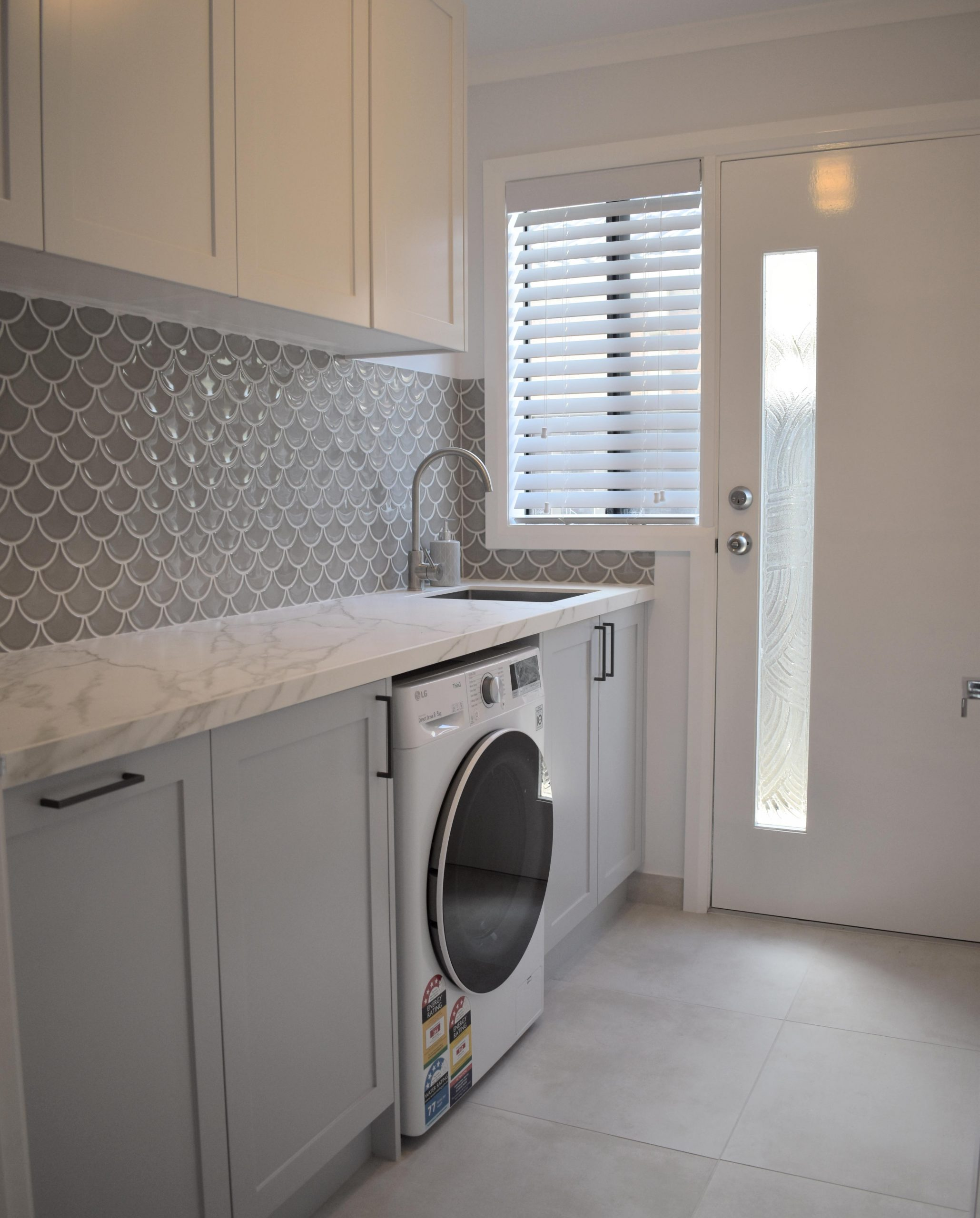 Completed Hamptons Laundry Renovation