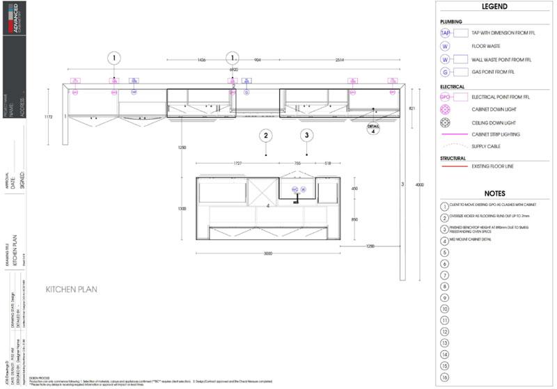 Kitchen Floorplans Geelong Ballarat