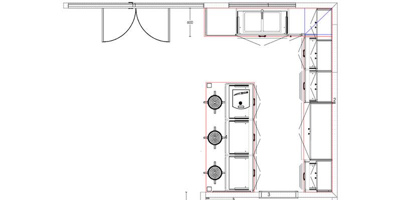 Country Ballarat Central Kitchen Plan